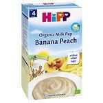 HIPP Бебешка каша банан и праскова млечна 4м+